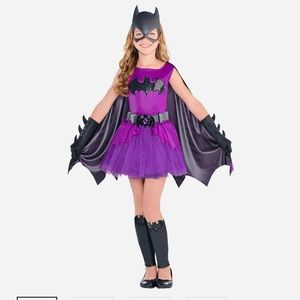 Girls Purple Batgirl Costume - Batman